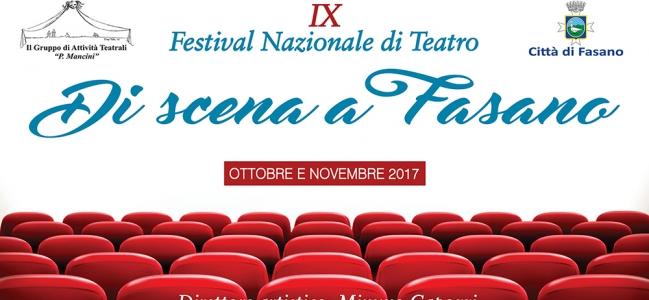 Festival Di scena a Fasano 2017