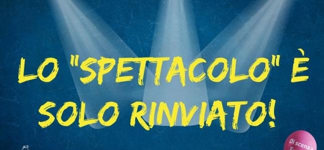 Sospeso momentaneamente il Festival 'Di scena a Fasano'